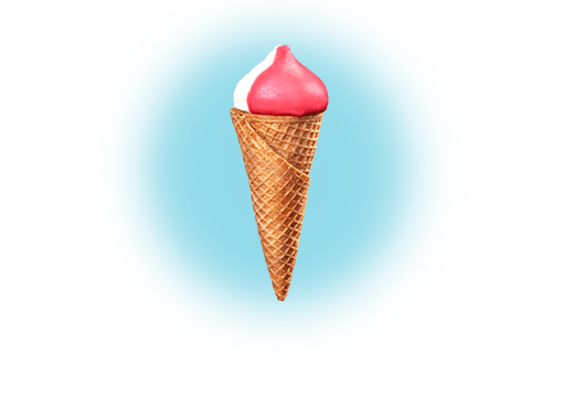 Ice cream in portions