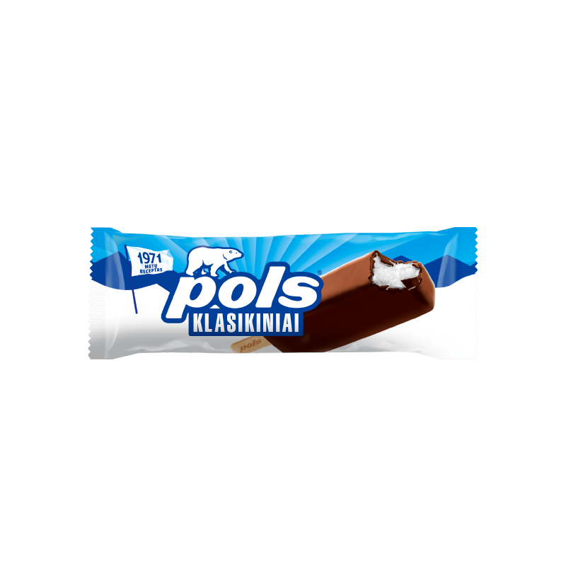 POLS Vanilla ice cream in coating