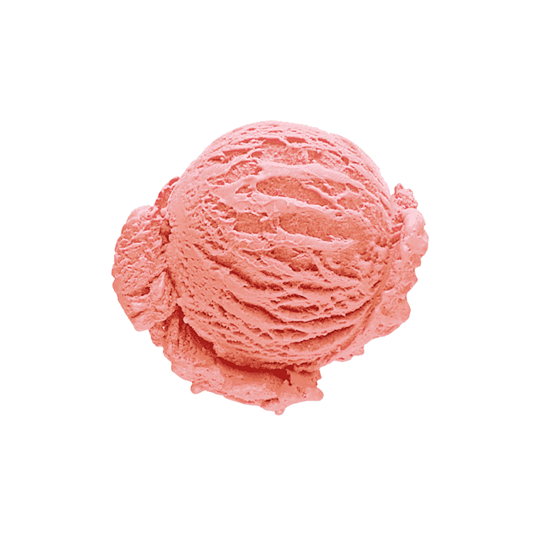 Strawberry ice cream (13%)