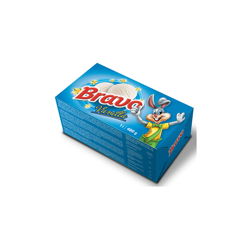 Bravo vanilla ice cream