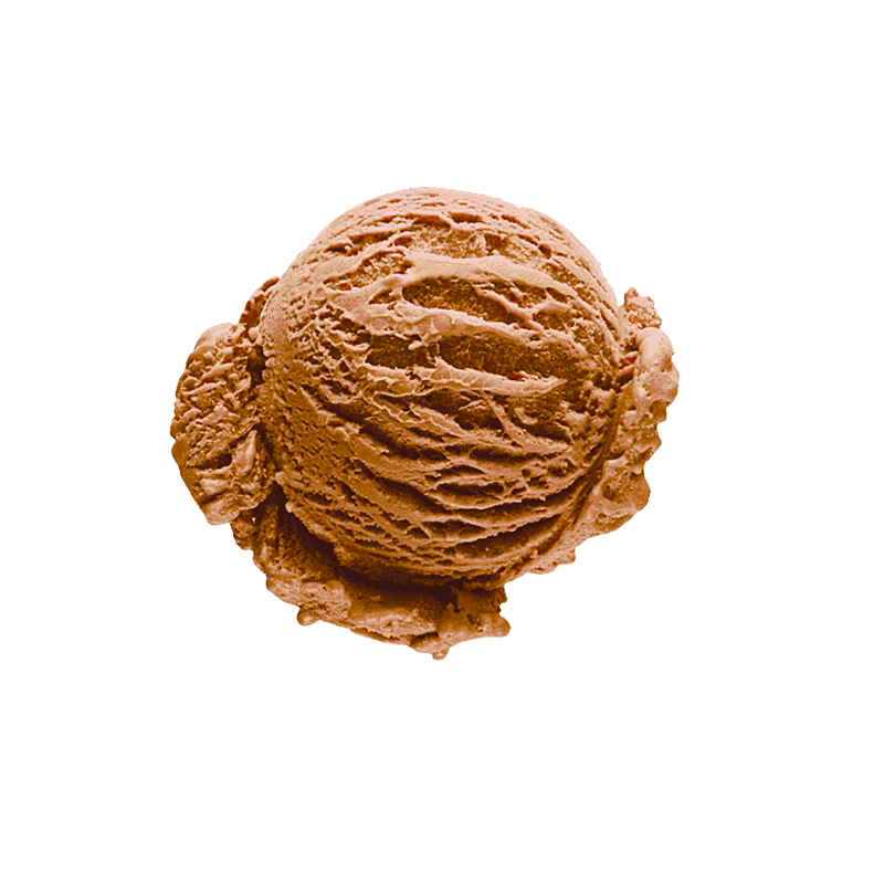 Cacao ice cream (13%)