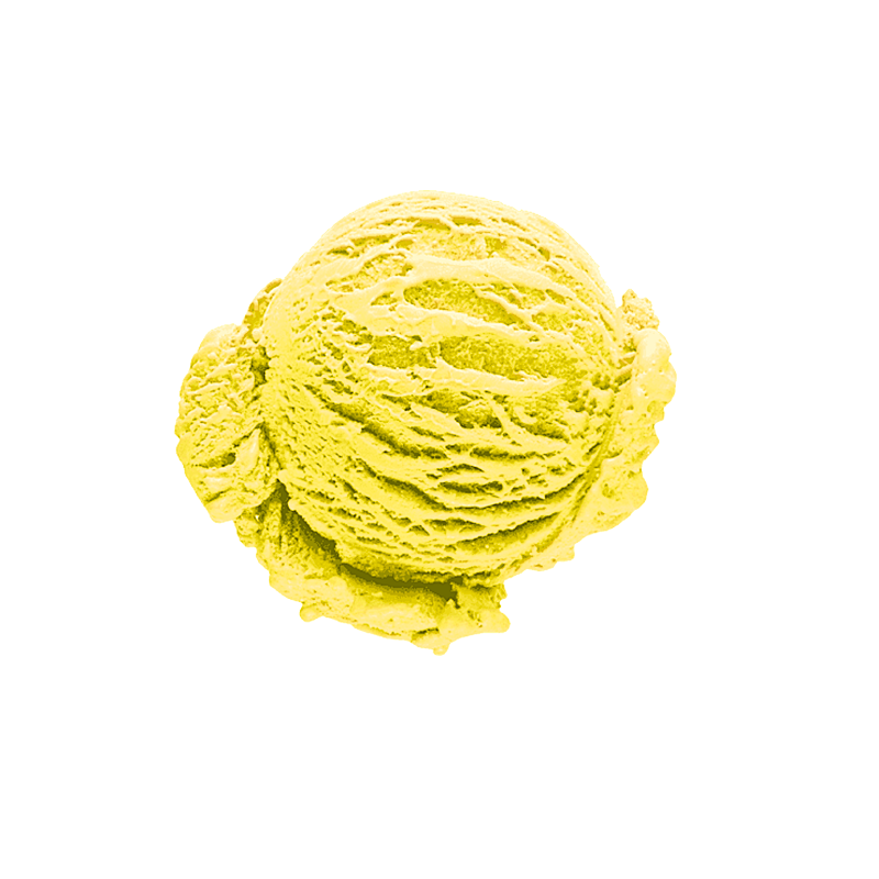 Lemon ice cream (10%)