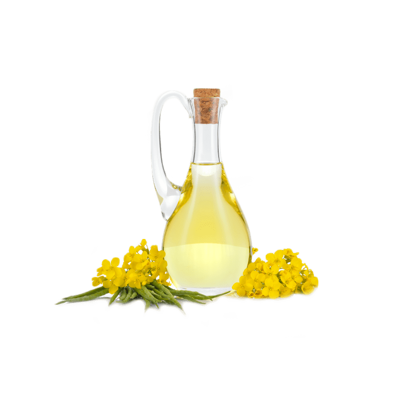 Refined deodorized rapeseed oil